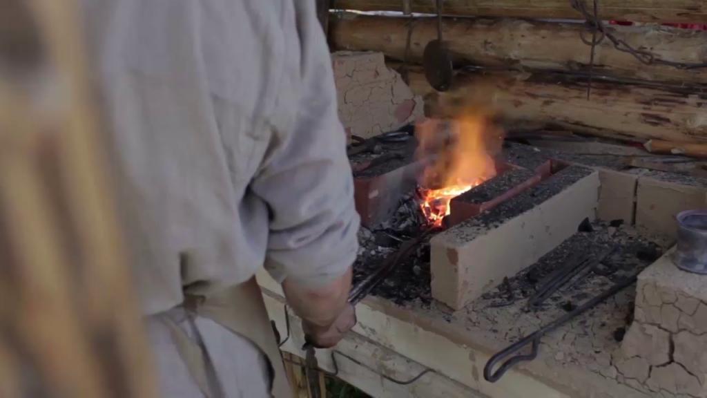 Prelucrarea fierului: batere la cald