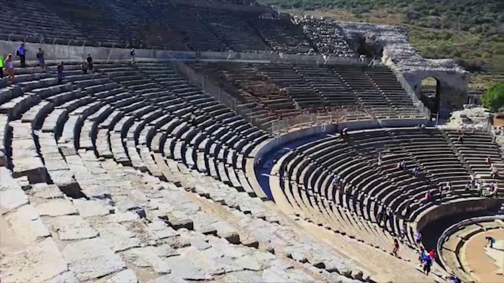 Amfiteatrul din Efes