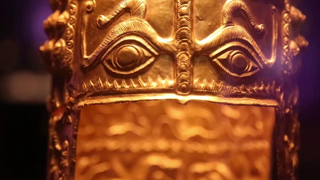 Coiful dacic de aur de la Coțofenești