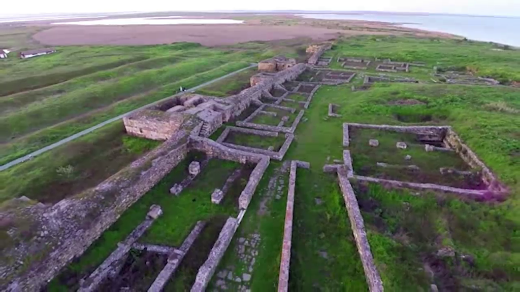 Ruinele cetății antice Histria
